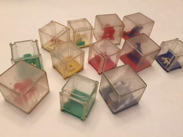 $3-Lot of Cube Dexterity Puzzles