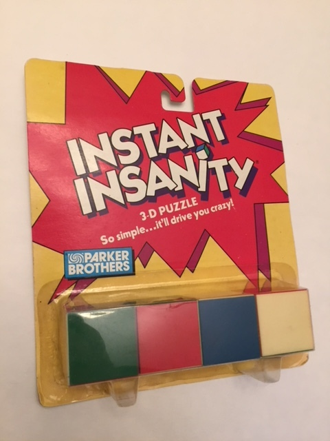 $5-Instant Insanity-NEW
