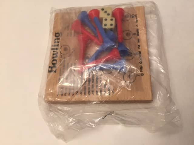 $2-Bowling Solitaire NEW