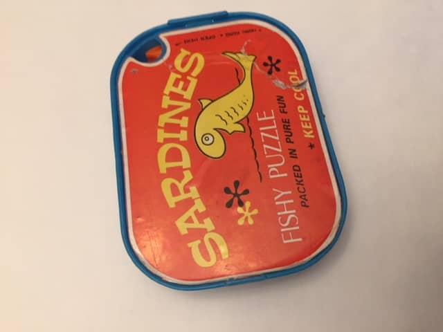 $8-Sardines Vintage Packing Puzzle