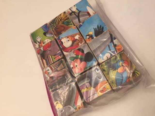 $5-Disney Cube Matching Puzzle