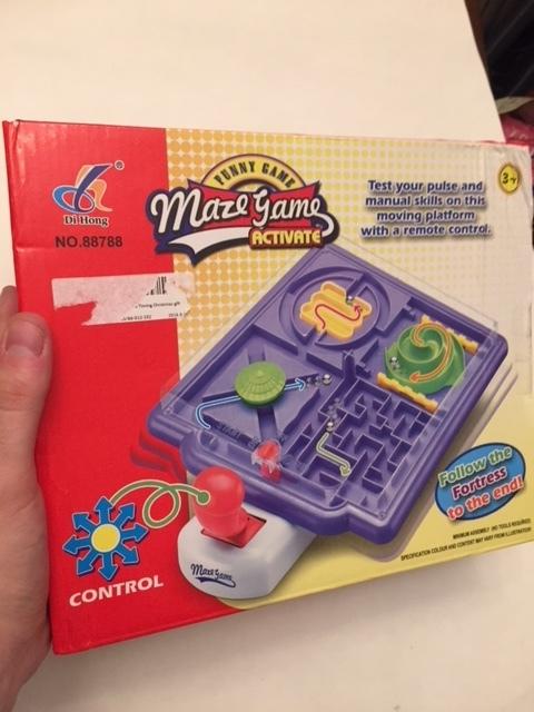 $5-Joystick Maze Game