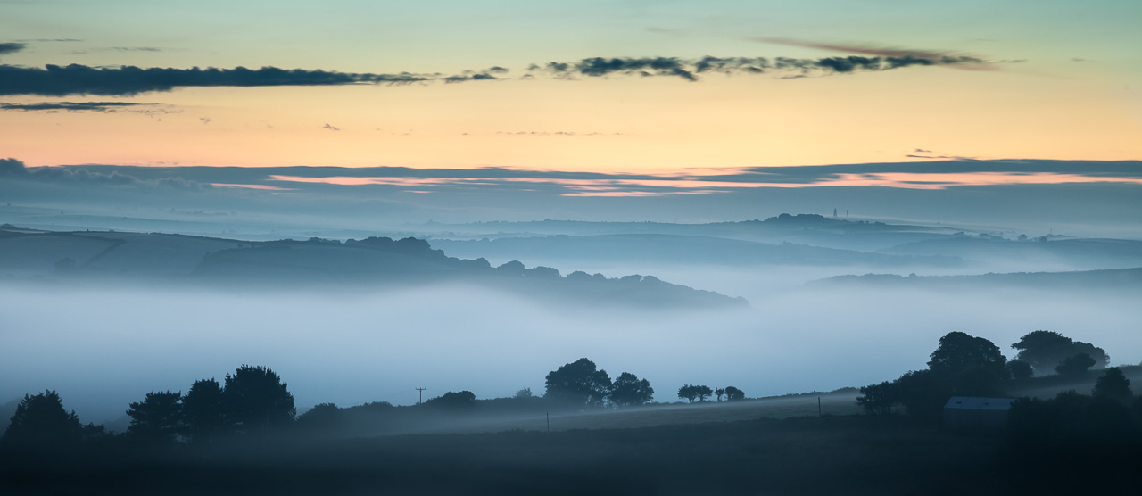 Rolling Hills at Dawn