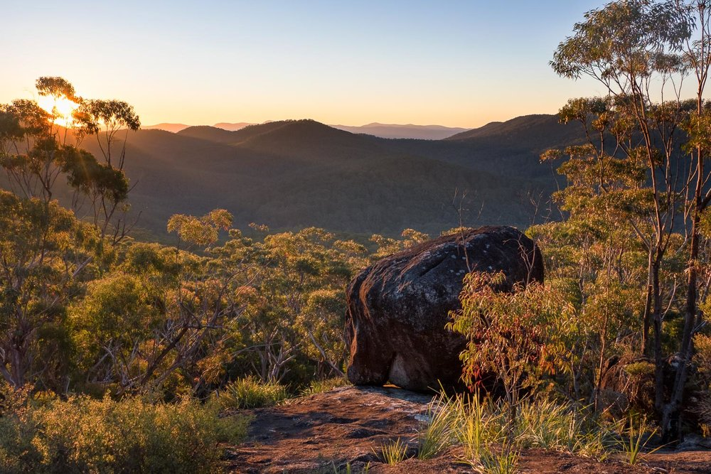 Granite Lookout, Washpool National Park [NEW16]