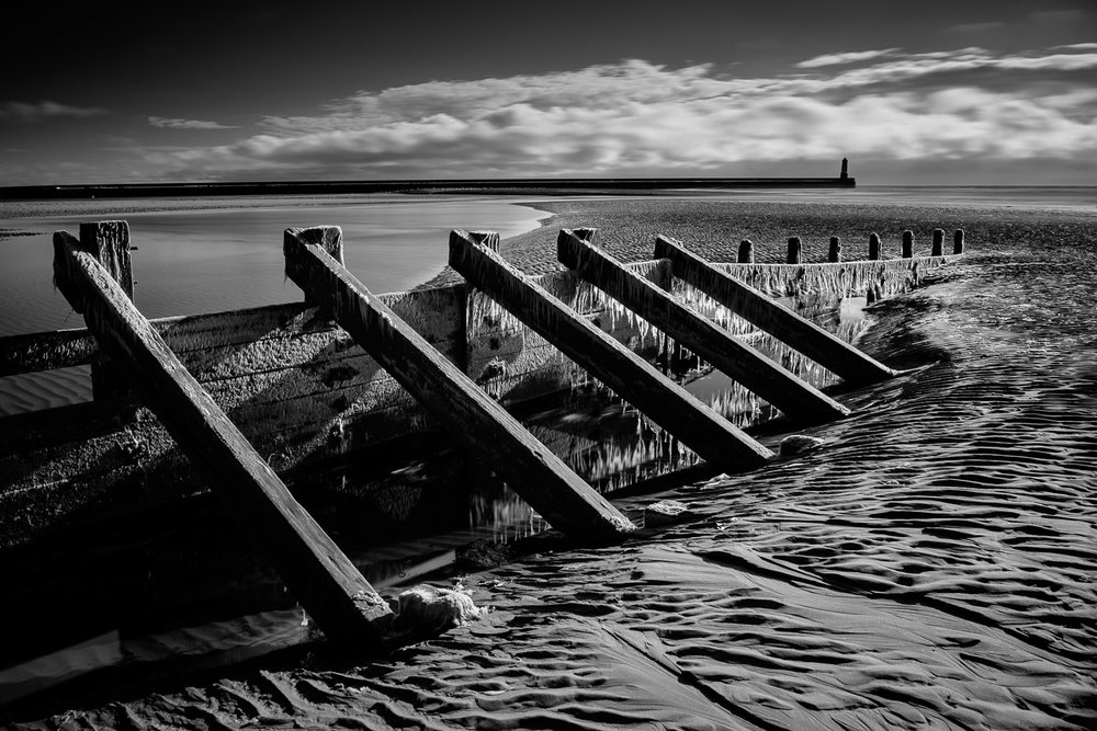 Groyne (Infrared), Spittal, Northumberland [EW02]