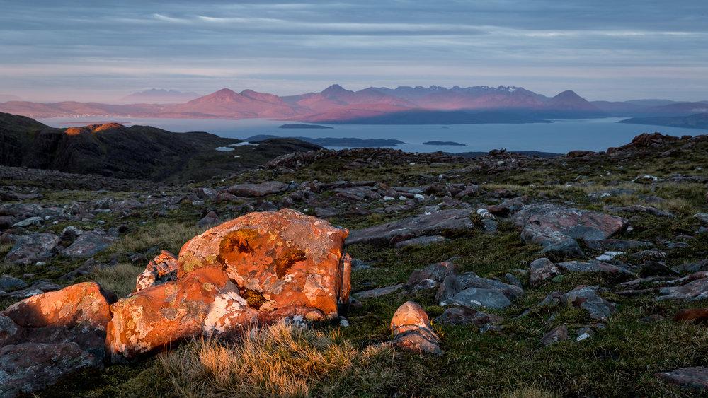 Sgurr a' Chaorachain to the Isle of Skye, Wester Ross [SCO21]