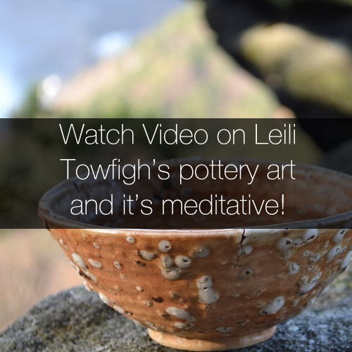 Watch Leili Towfigh's pottery art