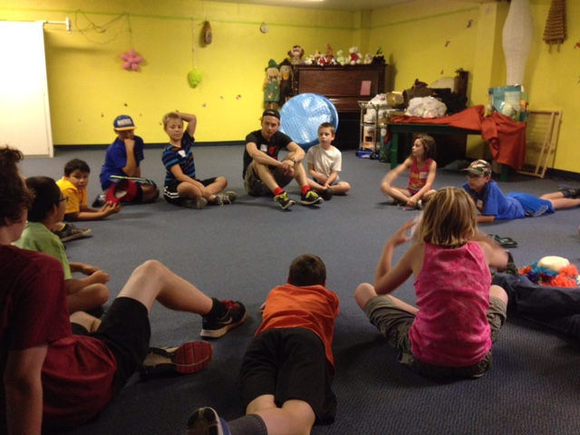 Zion hosts Vacation Bible School with other area churches every summer. Over 50 kids had a great week together this year!