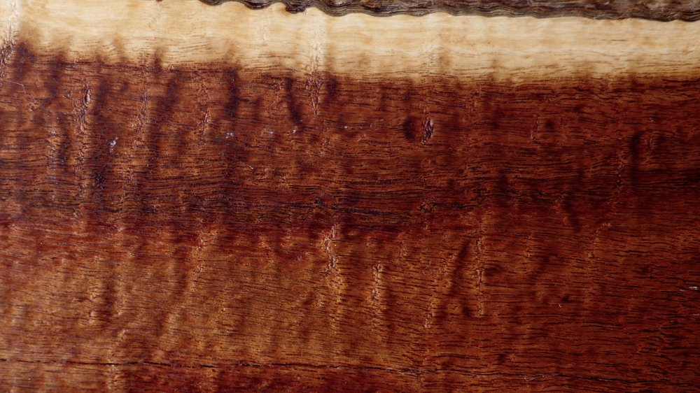 Mulga - Acacia aneuraA tough, close textured wood. Tony sees incredible textures emerge as he smooths and sands this timber. Hard to get, slow growing and very durable, this rare timber has a beauty all its own.