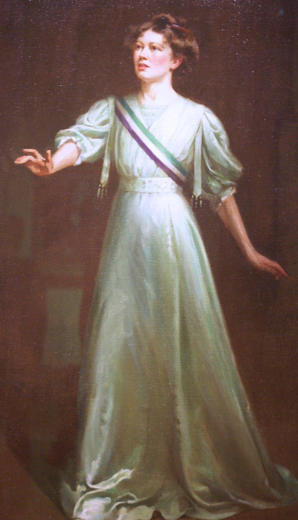 Christabel Pankhurst, 1909