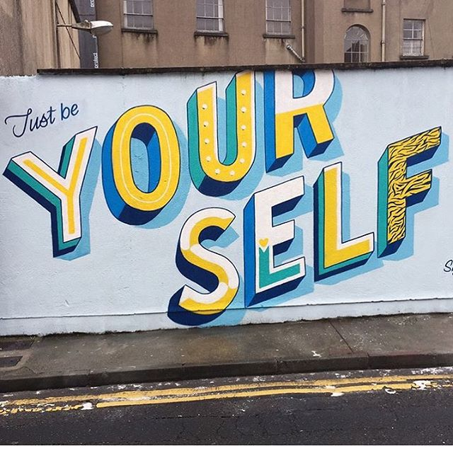 Enough said 🙌🏻 . #streetart#art#jungledrums#beyourself #beyourownboss #picoftheday #photooftheday #street#streets #artist#graffiti #graffitiart