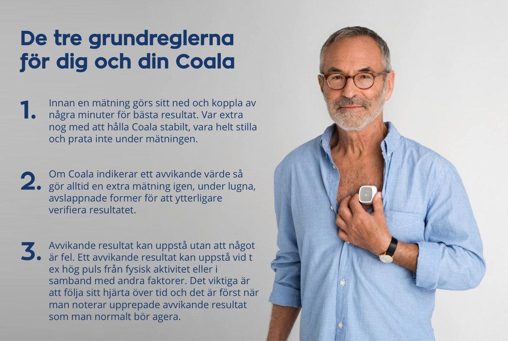 Coala hjärtmonitor tips och råd grundregler