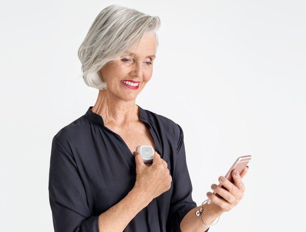 Coala Heart Monitor, smidig och snabb hjärtövervakning.