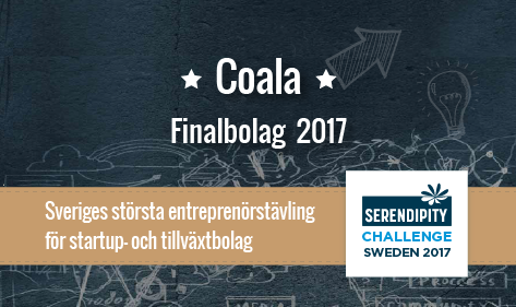 Coala Life Serendipity Challenge finalist