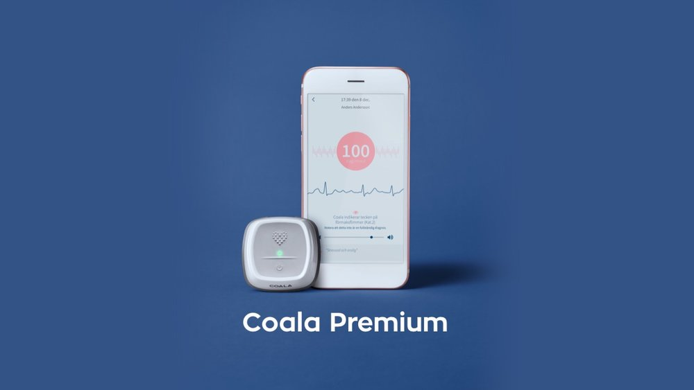 coala hjärtmonitor premium