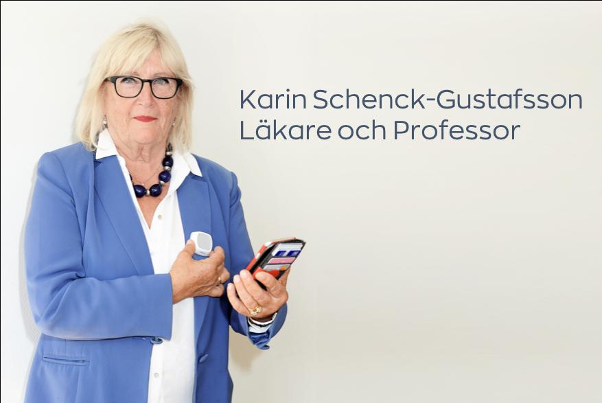 """Ger rätt diagnos. - """"Vi använder Coala på Karolinska för att undersöka kvinnors hjärtan och ge rätt diagnos.""""Professor Karin Schenck-Gustafsson, Karolinska Institutet."""