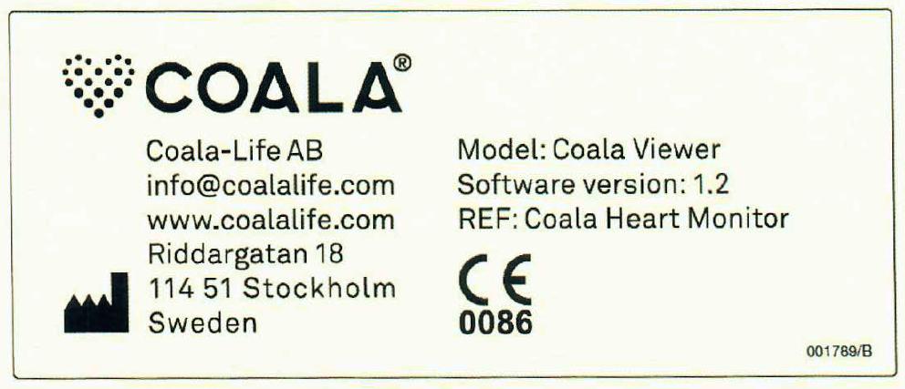 CE-godkänt - Coala Care Portalen är en CE-godkänd mjukvara med formellt namn