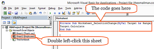 Auto-Highlight the Active Row When a Cell is Selected — Excel ...