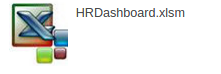 Human Resources HR Dashboard Excel