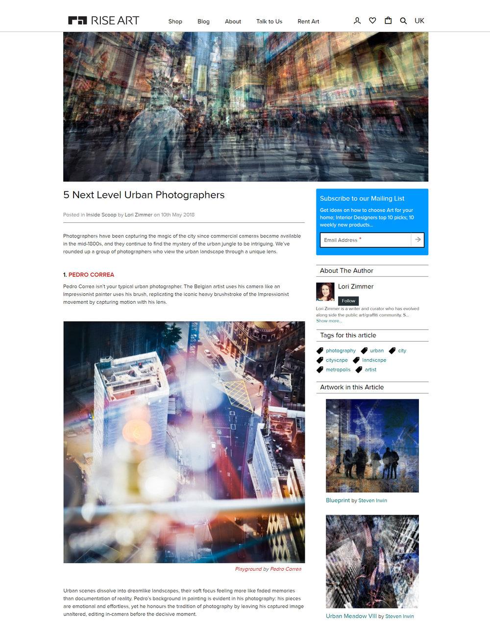 Top 5 Next Level Urban Photographers