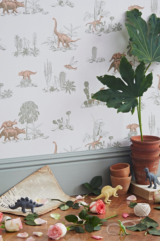 Sian Zeng Dino Pink Green Wallpaper Detail.jpg