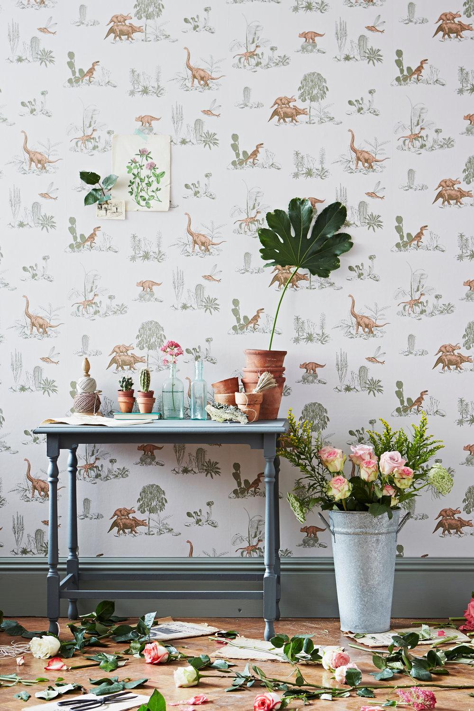 Sian Zeng Dino Pink Green Wallpaper.jpg