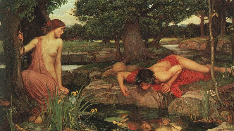 Echo and Narcissus, John William Waterhouse 1903.jpg