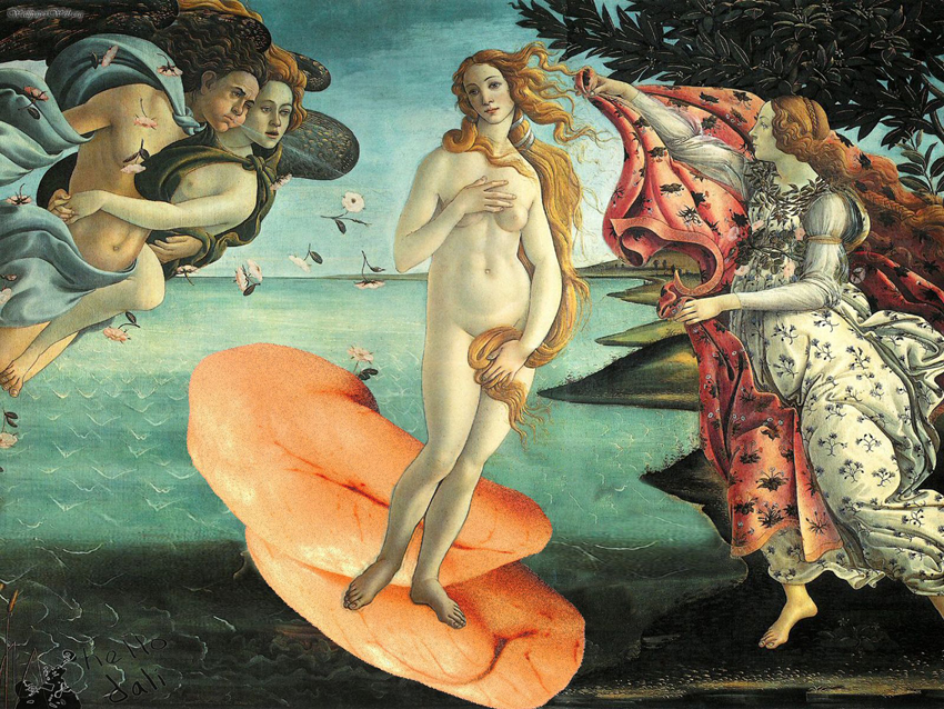 The Birth of Venus, Botticelli c1486.jpg