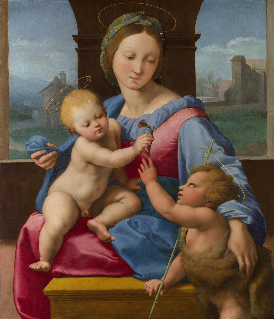 The Garvagh Madonna, Raphael 1509.jpg