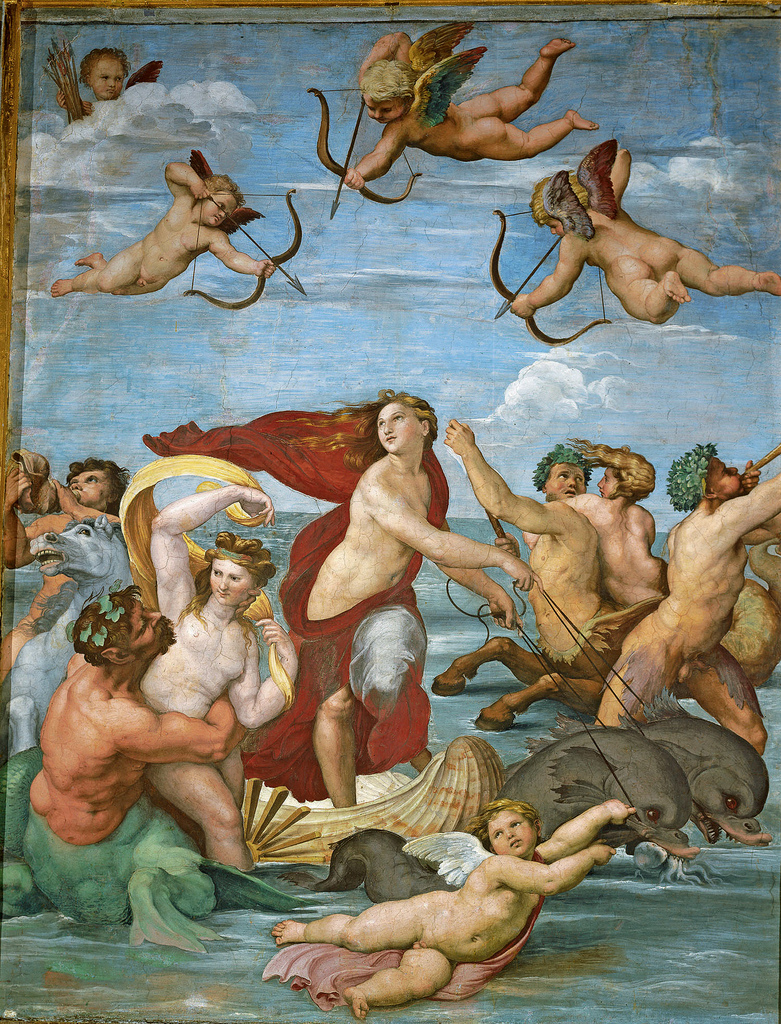 The Triumph of Galatea, Raphael 1511.jpg