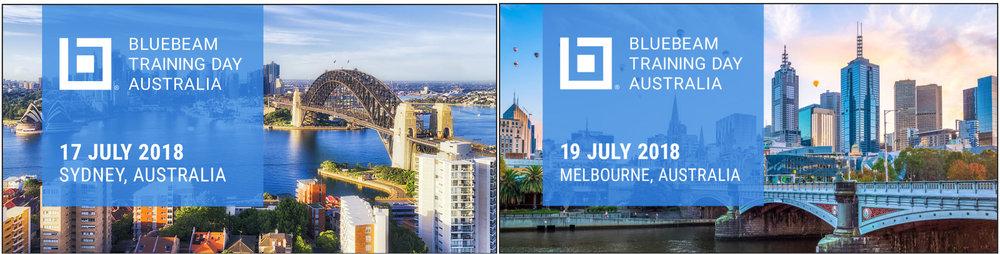 BLUEBEAM MELBOURNE & SYDNEY TRAINING DAYS 2019  — Captain Bimcad