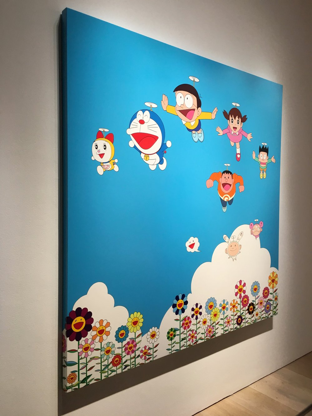the doraemon exhibition