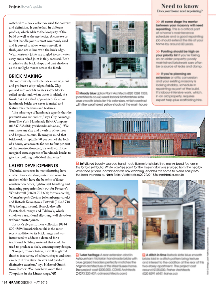 Broad Street House in Grand Designs magazine — Nash Baker Architects