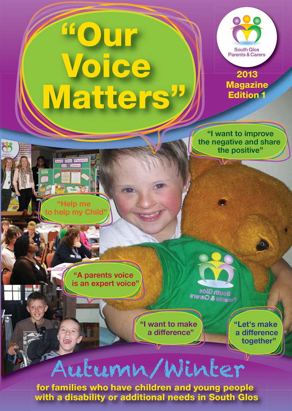 Our Voice Matters Magazine Edition 1