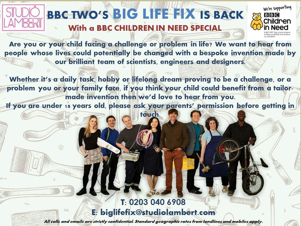 8ea53568bbb BBC s Big Life Fix is back and looking for a challenge. Could it be yours