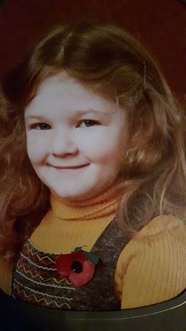 Nikki thought as a child she was just naughty.  We think she was adorable! Just look at that face.