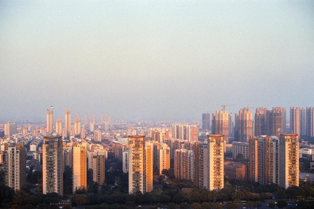 Above Changzhou.