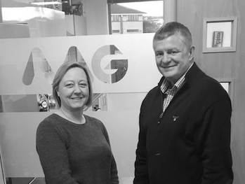 Managing Director Michelle Walker and Head of IT Operations Paul Cullumbine