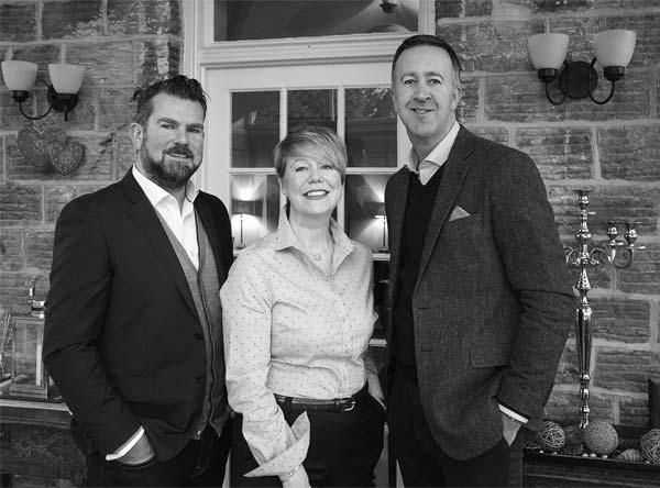 Ian, Heather and David, the three directors of Haus