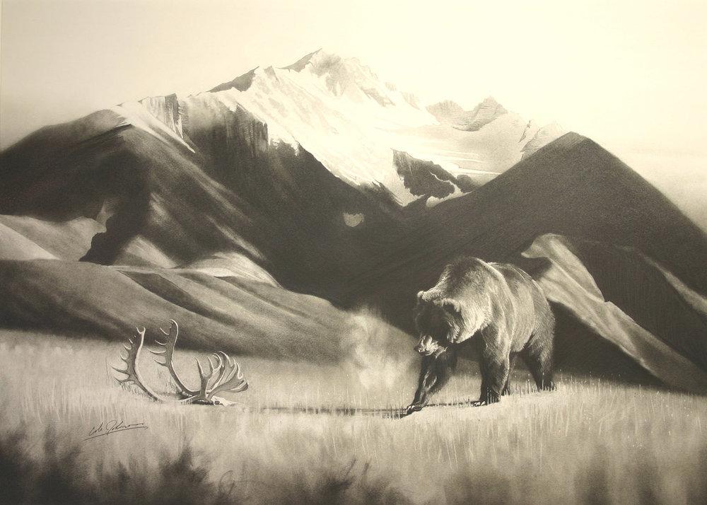 e Grizz w Caribou Rack.jpg
