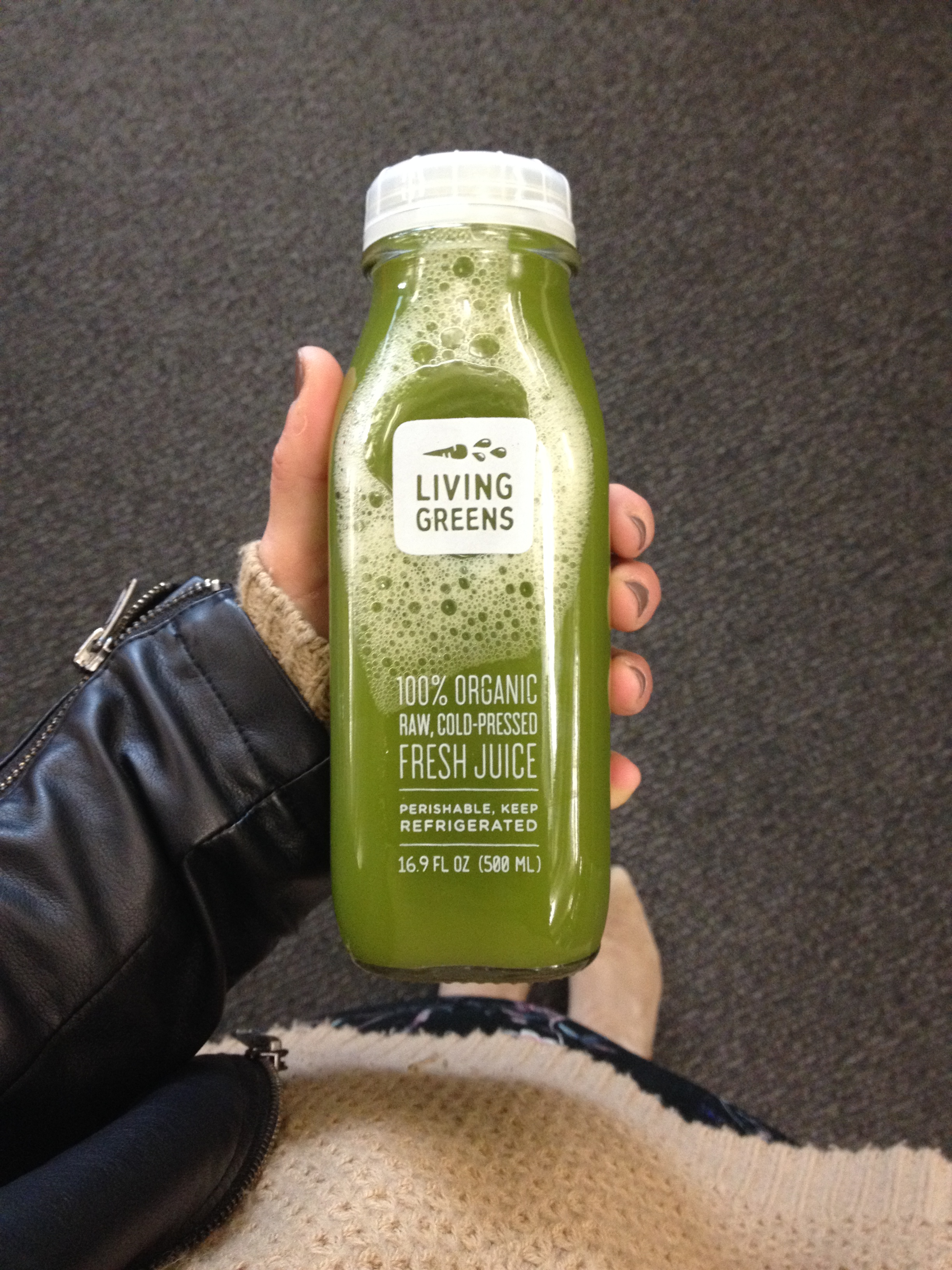 Loved my first Living Greens experience!