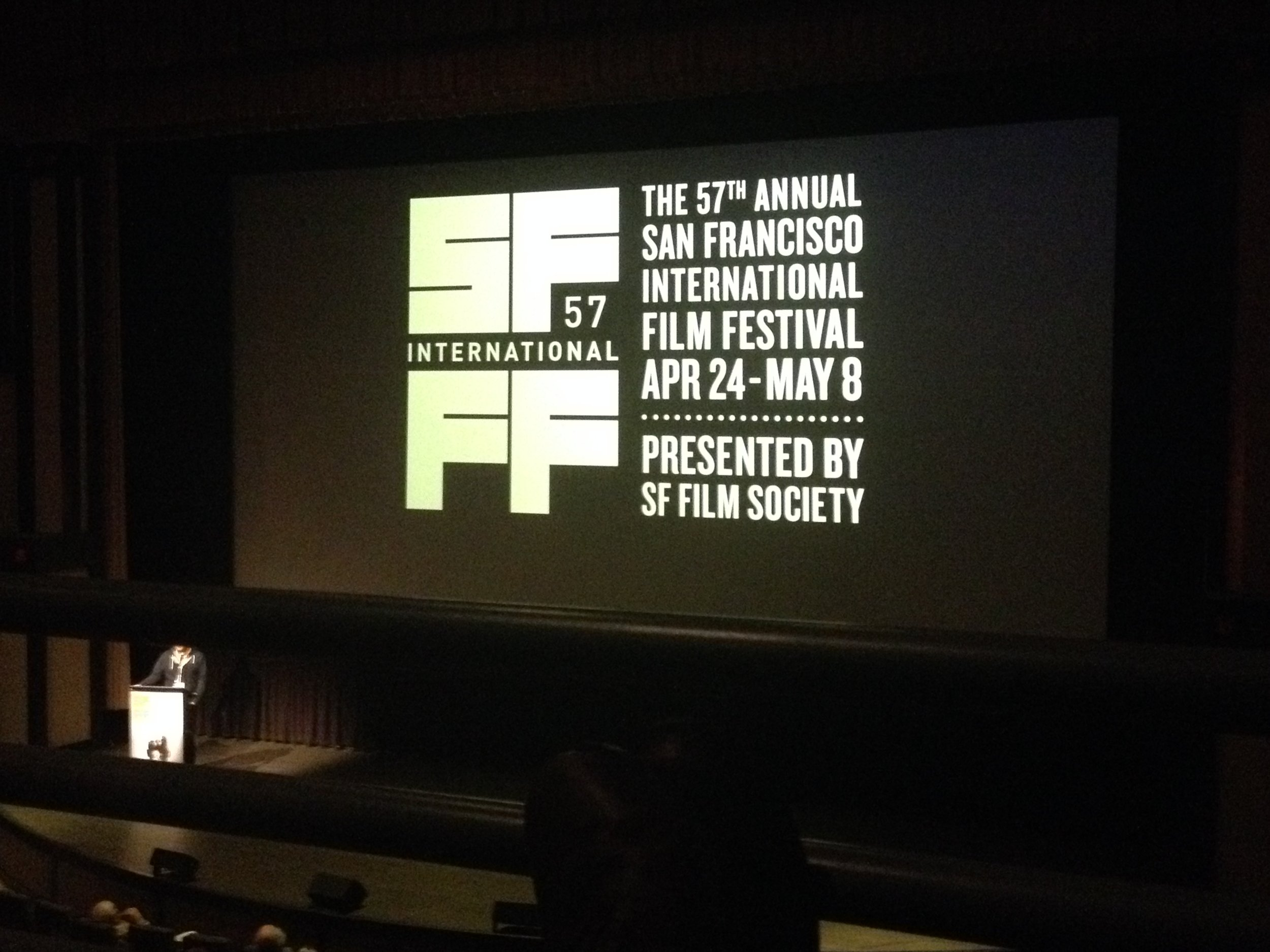 San Francisco International Film Festival!