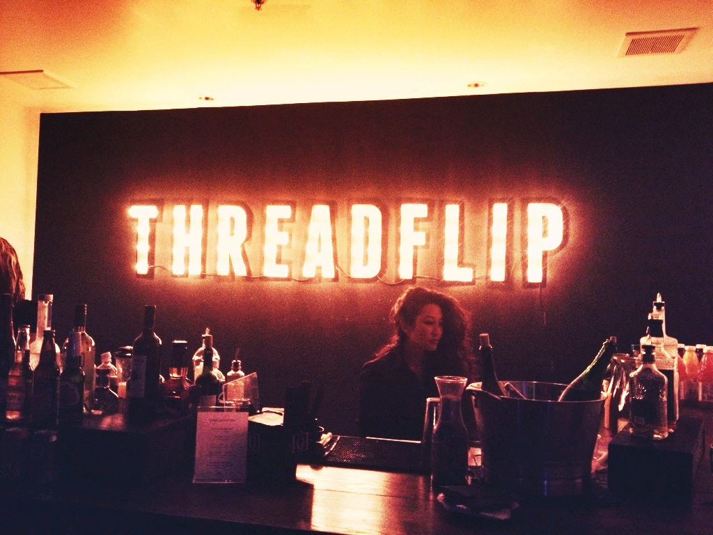 Attended a Threadflip celebration of their new office & their live news feed! Congrats, ya'll!