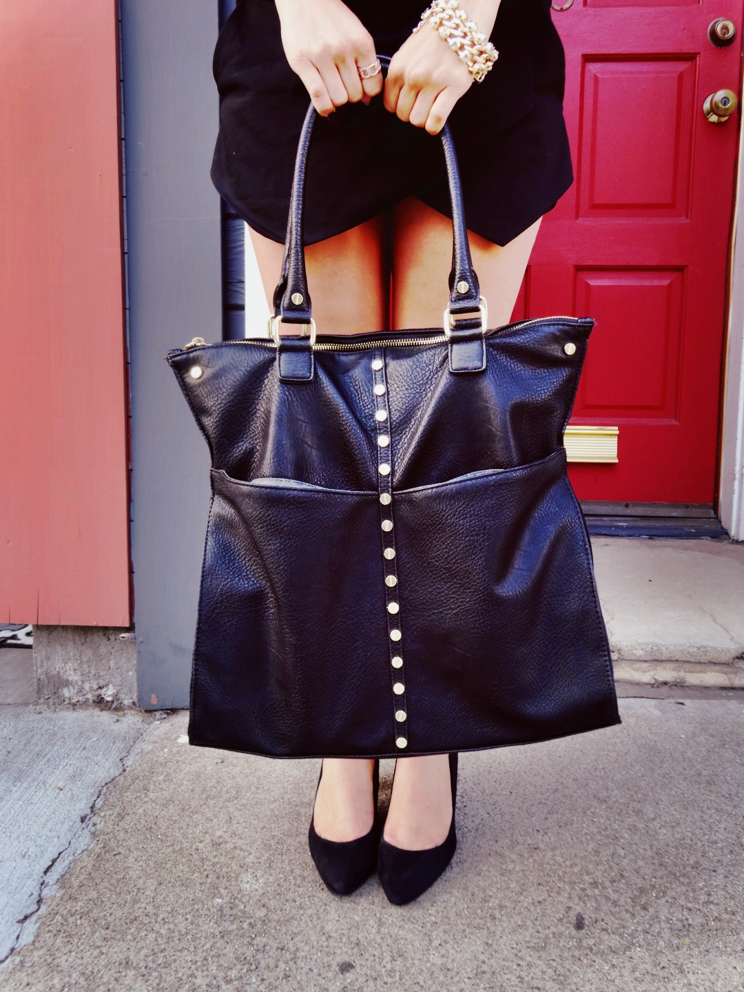 Bag: Olivia + Joy via Macy's