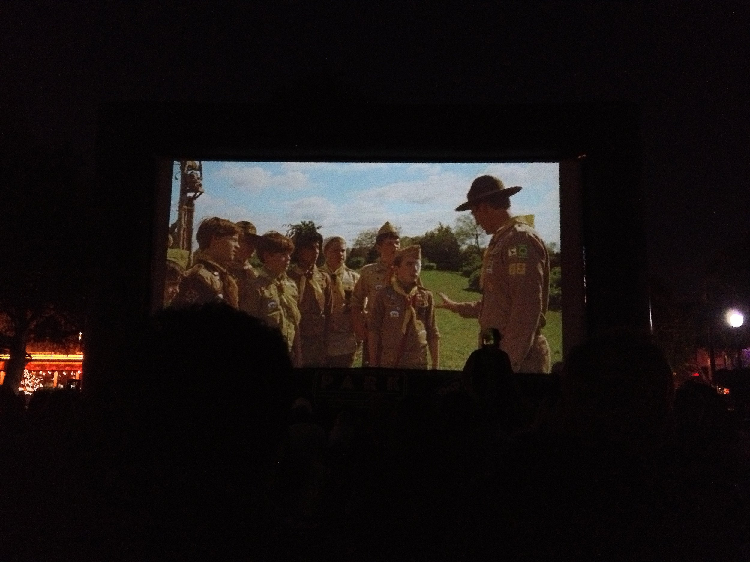 Honestly, one of the best things about San Francisco. An unexpected movie in the park. Moonrise Kingdom, of course.