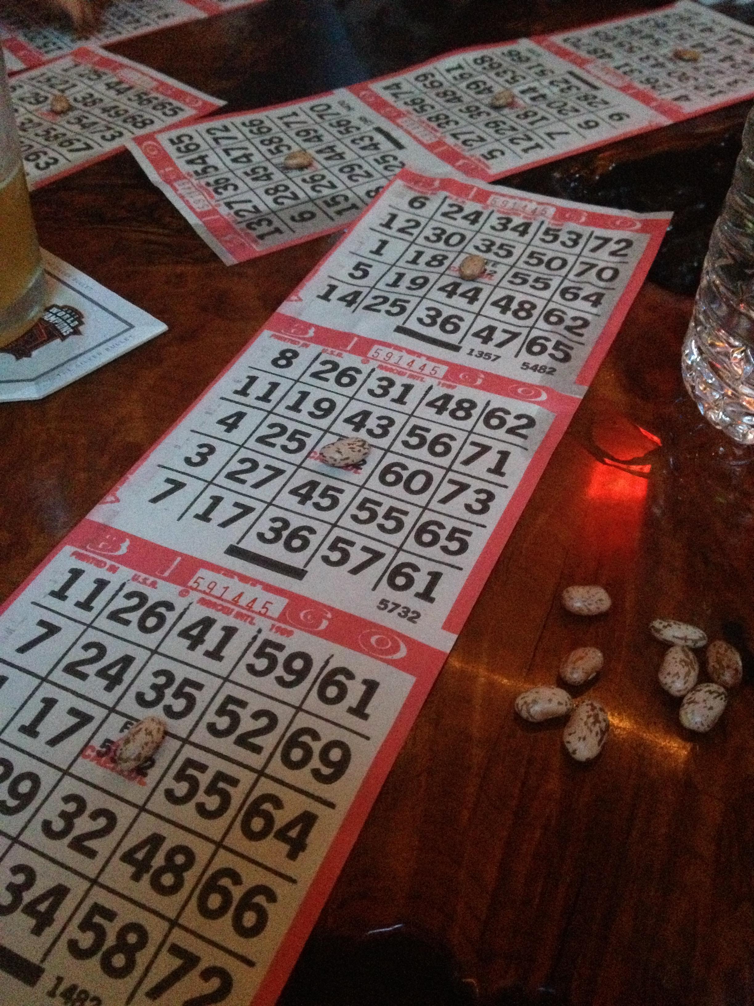 Bingo at Riptide