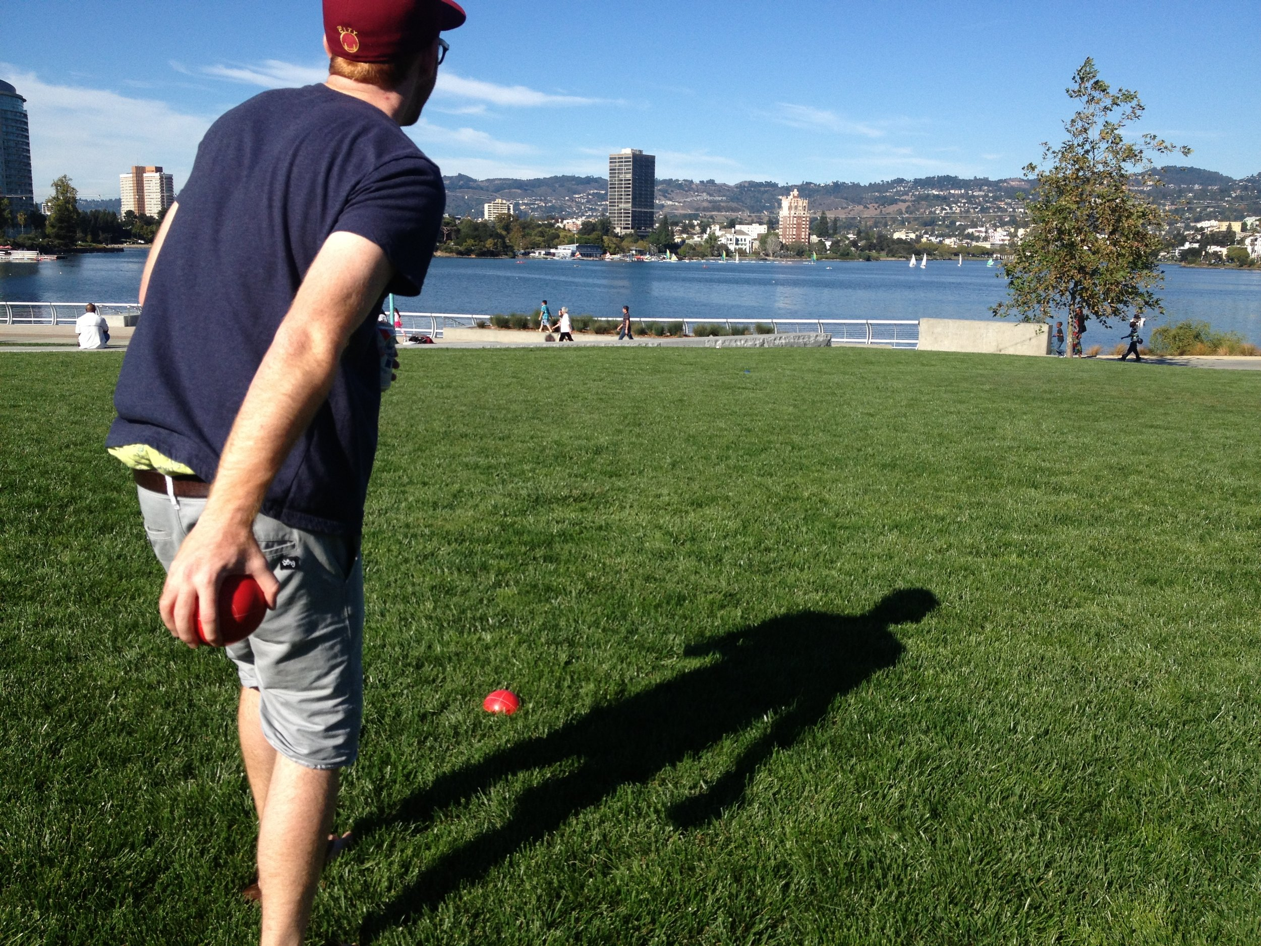 Bocce Ball in Oakland!