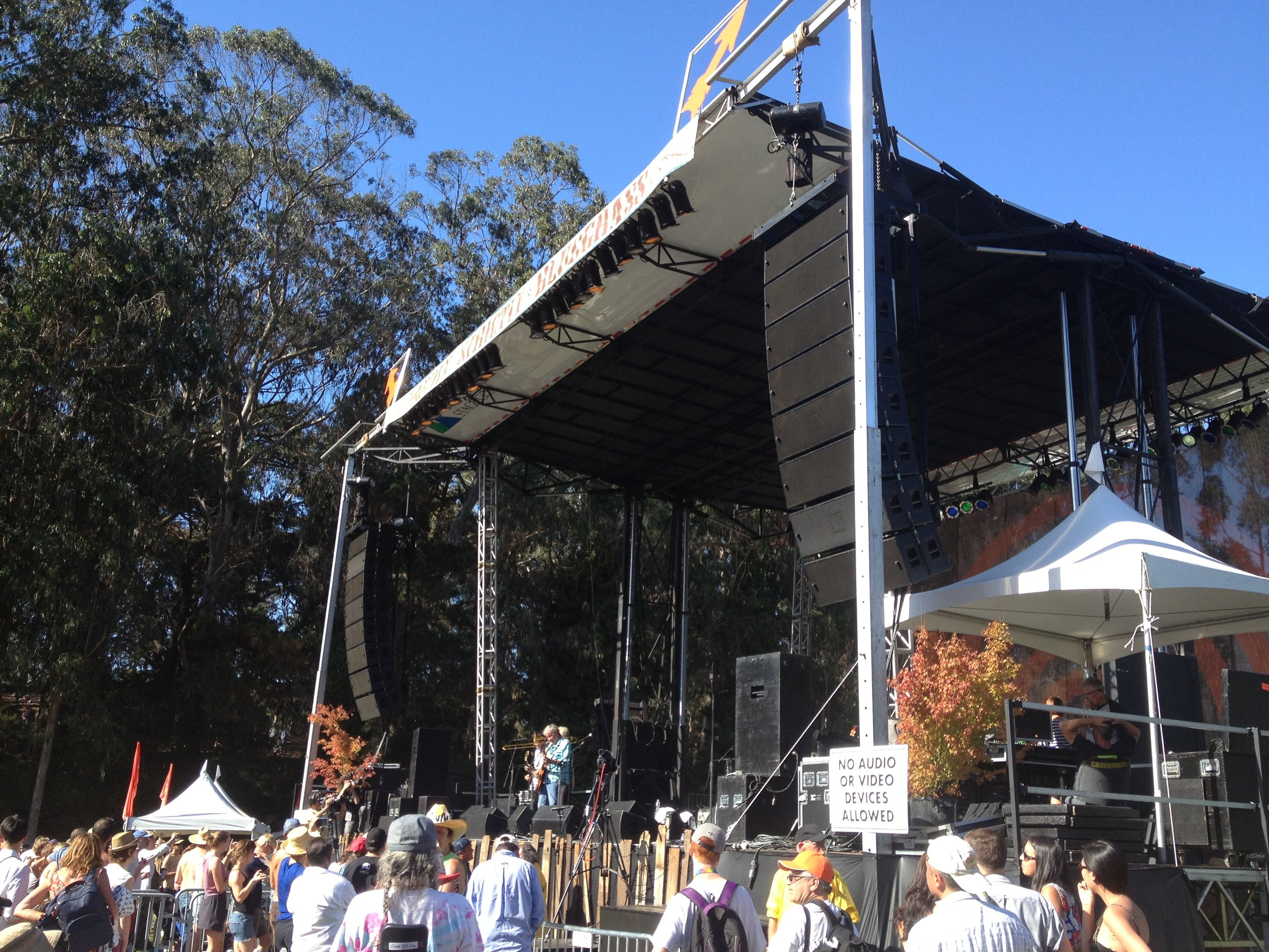 Hardly Strictly Bluegrass Festival!