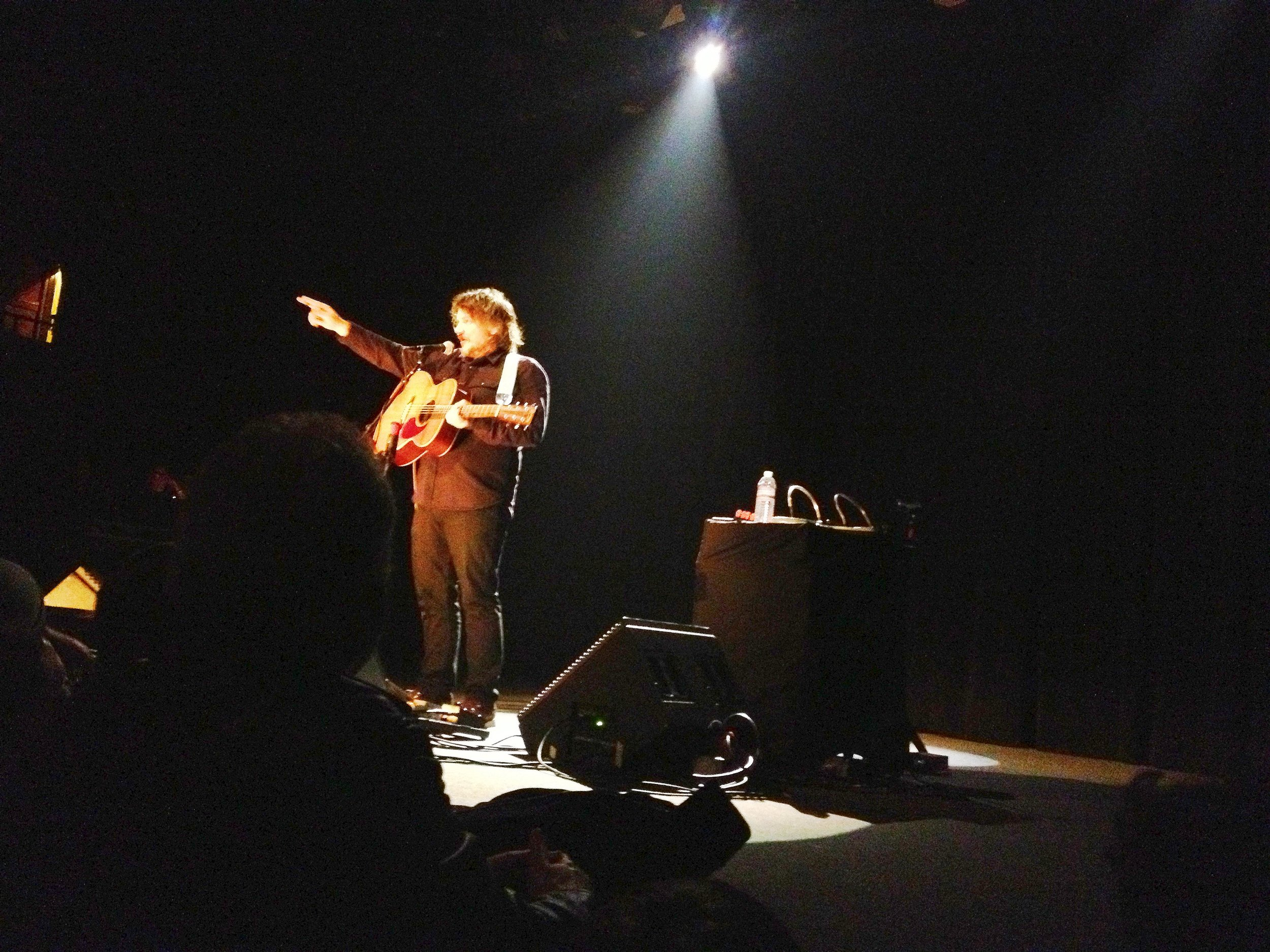 Got surprised with the best Christmas gift ever. Jeff Tweedy tickets!