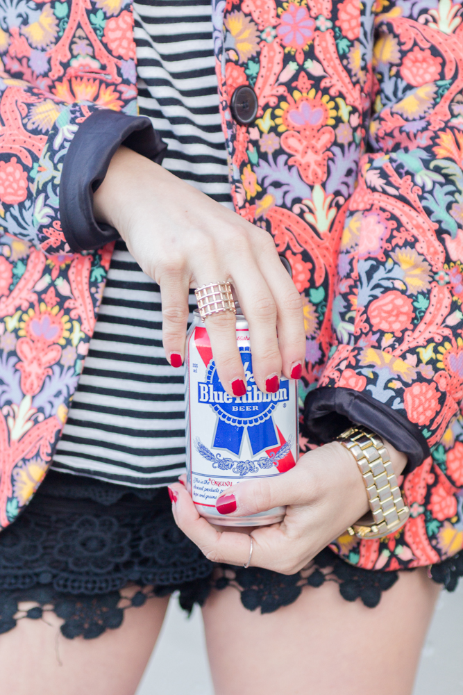 A little PBR never hurt anyone.